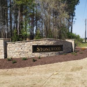 Stonewood Manor entrance