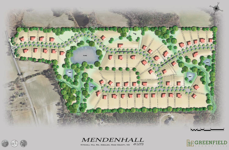 Mendenhall site plan