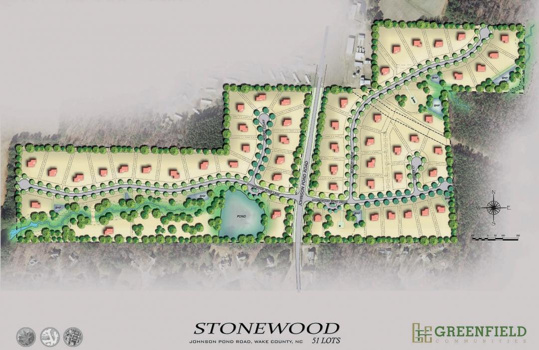 Stonewood Manor site plan